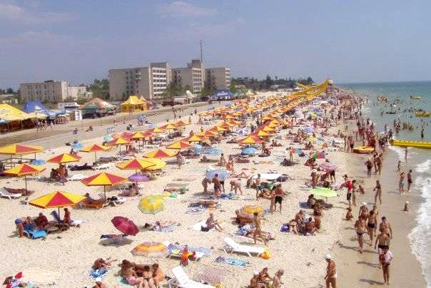Аншлаг на пляжах