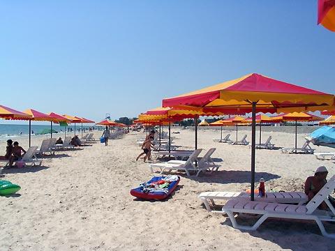 Пляж в лазурному 96